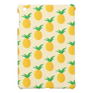 Pineapple Pattern Yellow Green iPad Mini Covers