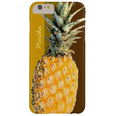 pineapple personalized barely there iPhone 6 plus case