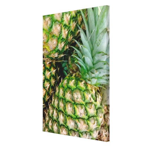 Pineapple Photo Canvas - cool pineapple wall art