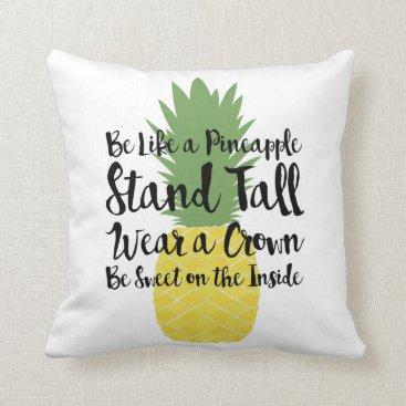 Beach Themed Pineapple Pillow