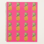 "Pineapple Planner<br><div class=""desc"">Watercolor pineapple design</div>"