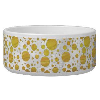 Pineapple Polka Dot Pattern Bowl