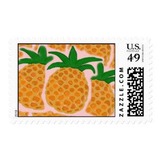 Pineapple Postage Stamp