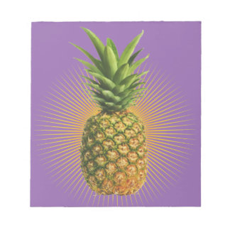 Pineapple Power Notepad