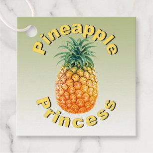 0b25b1571a0 Pineapple Princess Favor Tags
