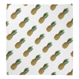 Pineapple print bandana