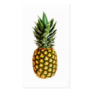 Pineapple print business cards