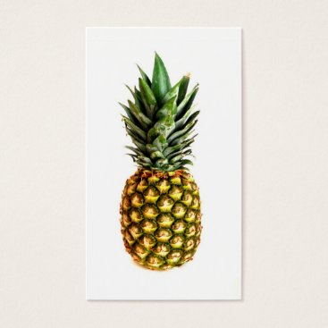 Professional Business Pineapple print business cards