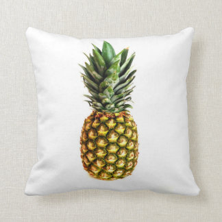 Pineapple print throw pillow