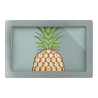 Pineapple Rectangular Belt Buckle