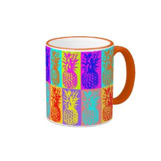 Pineapple Ringer Coffee Mug