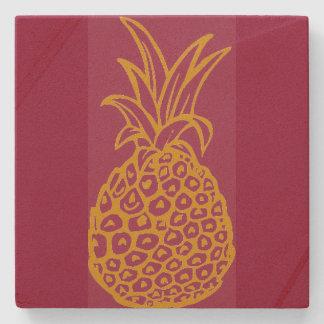 Pineapple Sandstone Coaster Stone Beverage Coaster