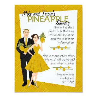 Pineapple Shindig Card