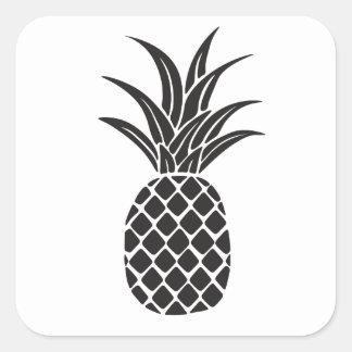 Pineapple Silhouette Sticker