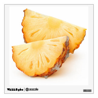 Pineapple slices wall decal