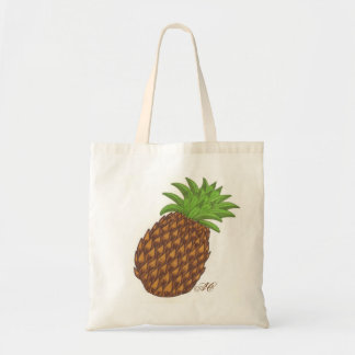 Pineapple small tote bag