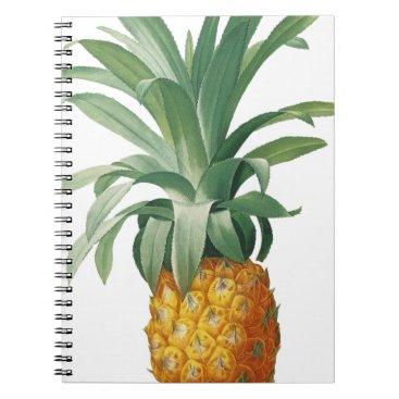 Beach Themed Pineapple Spiral Notebook