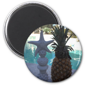 Pineapple Starfish Magnet