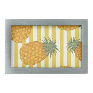 Pineapple Stripes Belt Buckle