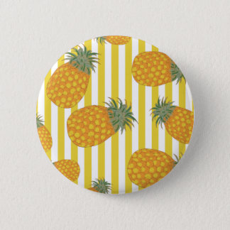 Pineapple Stripes Button