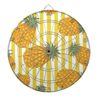 Pineapple Stripes Dart Board