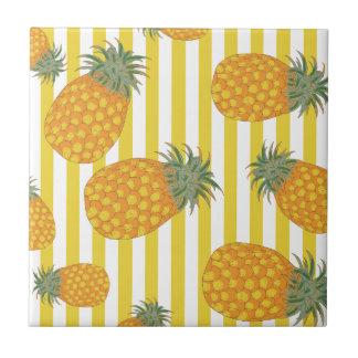 Pineapple Stripes Tile