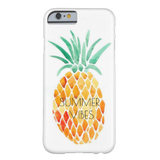 PINEAPPLE - SUMMER VIBES BARELY THERE iPhone 6 CASE