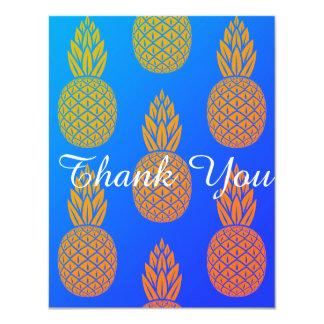 Pineapple Thank You Miami Card