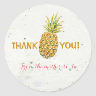 Pineapple Thank You Sticker