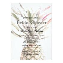 Pineapple Theme Bridal Shower Invitation