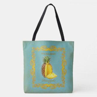 PINEAPPLE ~ Tote Bag