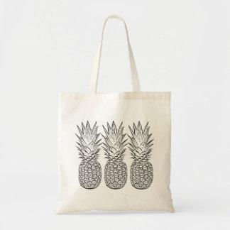 Pineapple Tote bag,beach tote bag,welcome