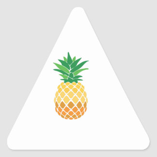 Pineapple Triangle Sticker