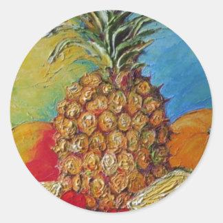 Pineapple Tropical Fruit Sticker