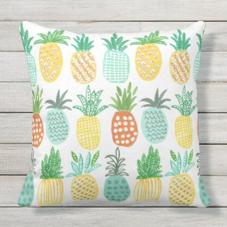 Pineapple Tropical outdoor | Pillow