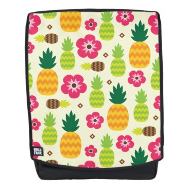 Pineapple Tropical Summer Seamless Pattern Backpack