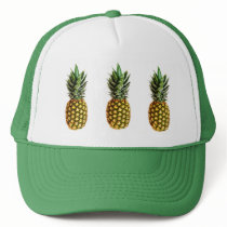 Pineapple trucker hat
