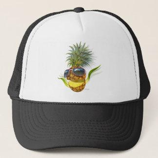 pineapple trucker hat