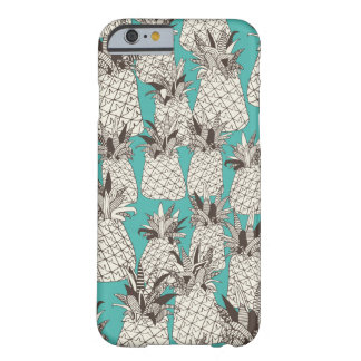 pineapple turquoise sea barely there iPhone 6 case