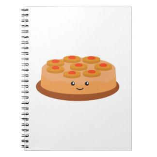 Pineapple Upside Down Cake Notebook