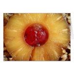 Pineapple Upside Down Cake Pineapple Card