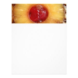 Pineapple Upside Down Cake Pineapple Flyer Design
