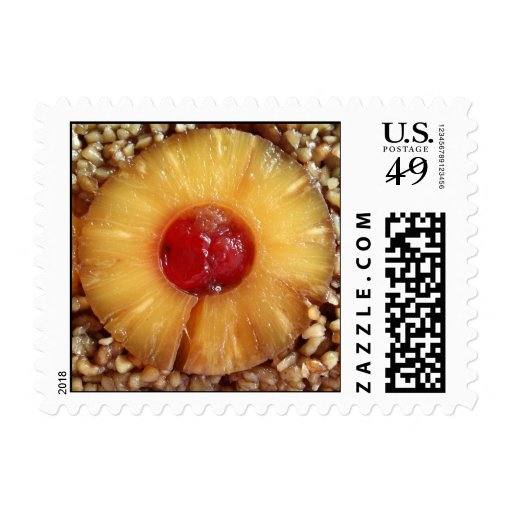 Pineapple Upside Down Cake Pineapple Stamps
