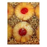 Pineapple Upside Down Cake Postcard