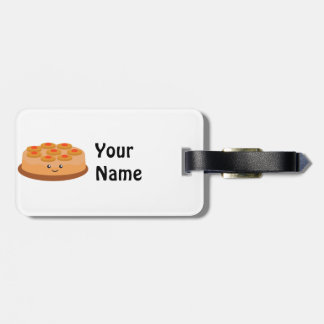Pineapple Upside Down Cake Tag For Luggage