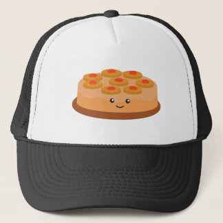 Pineapple Upside Down Cake Trucker Hat