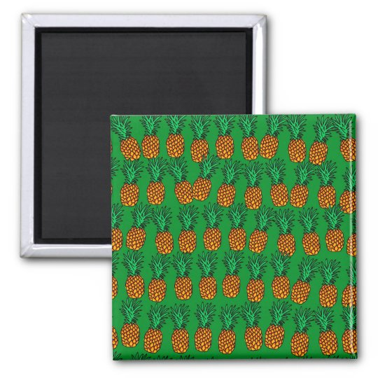 Pineapple Wallpaper Magnet