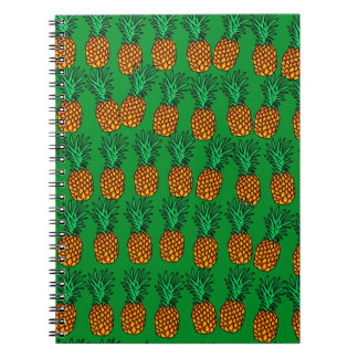 Pineapple Wallpaper Notebook