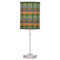 Pineapple Wearing Sunglasses Pattern Foodies, ZSSG Desk Lamp