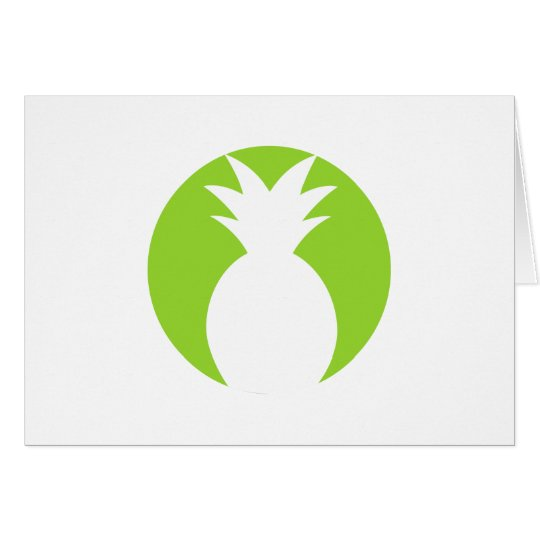 Pineapple Welcome Graphic Card